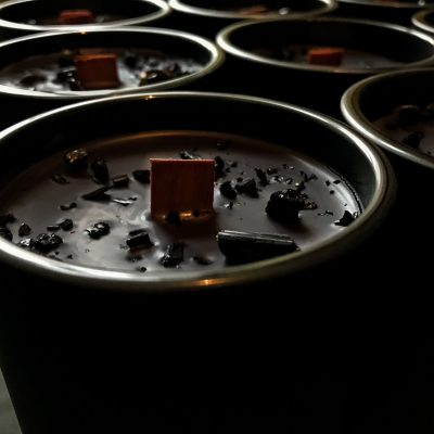 Dunkelmond-Kerzen Herstellung