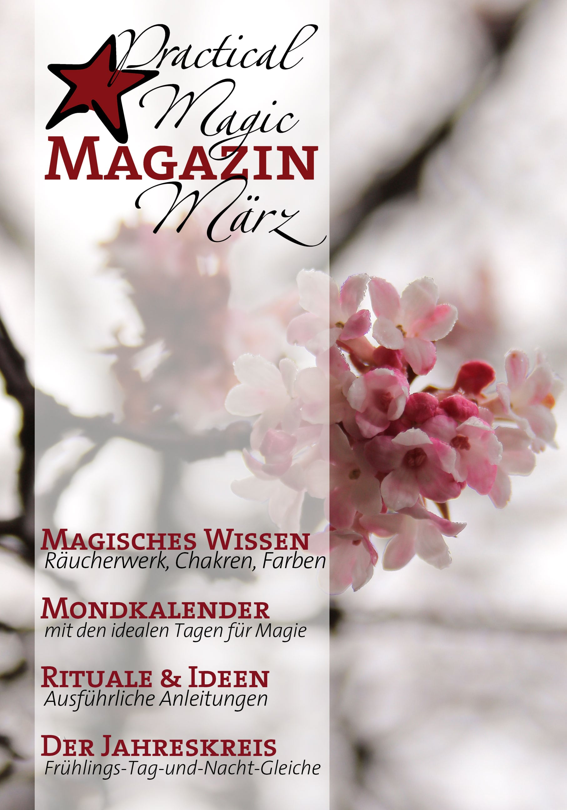 März-Ausgabe Practical Magic Magazin