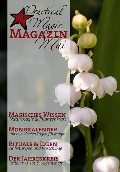 Vorschau Mai Ausgabe Practical Magic Magazin