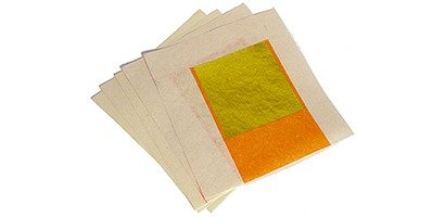 Ritualpapier gold, 5 Blatt