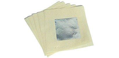 Ritualpapier silber, 5 Blatt