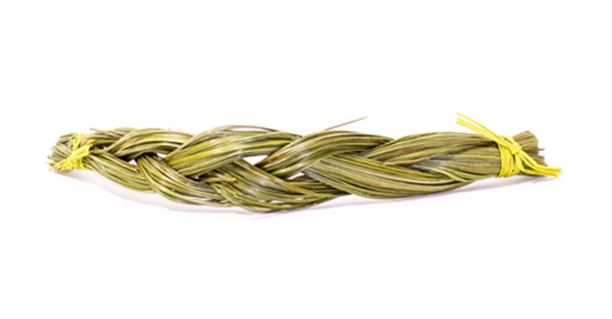 Shamanic Sweet Vanilla Grass Braid (Süßgras)
