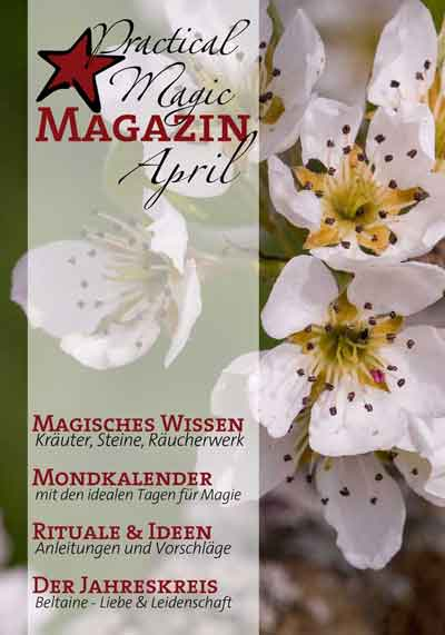 Vorschau April Magazin