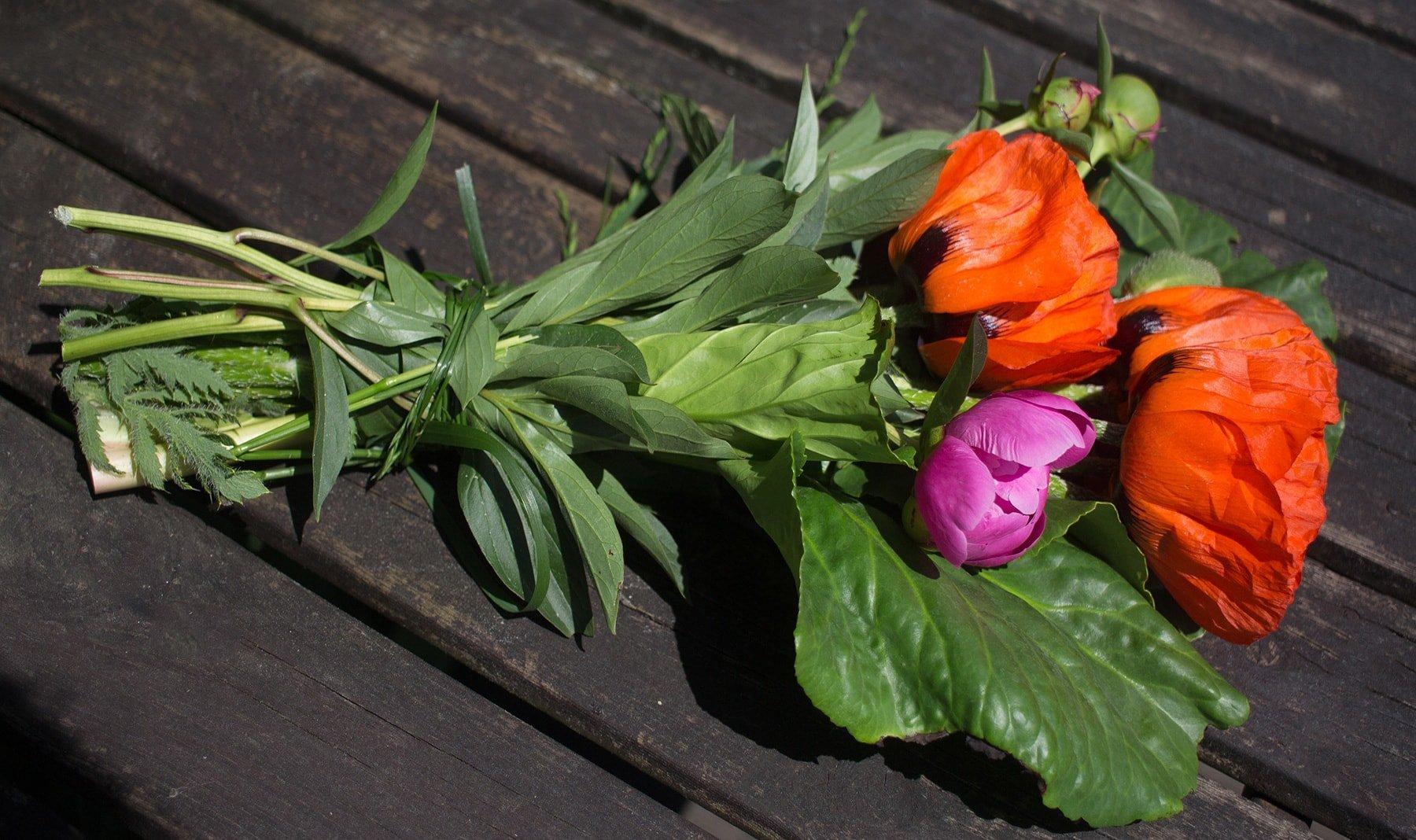 Sommerblumen - Blumenstrauss