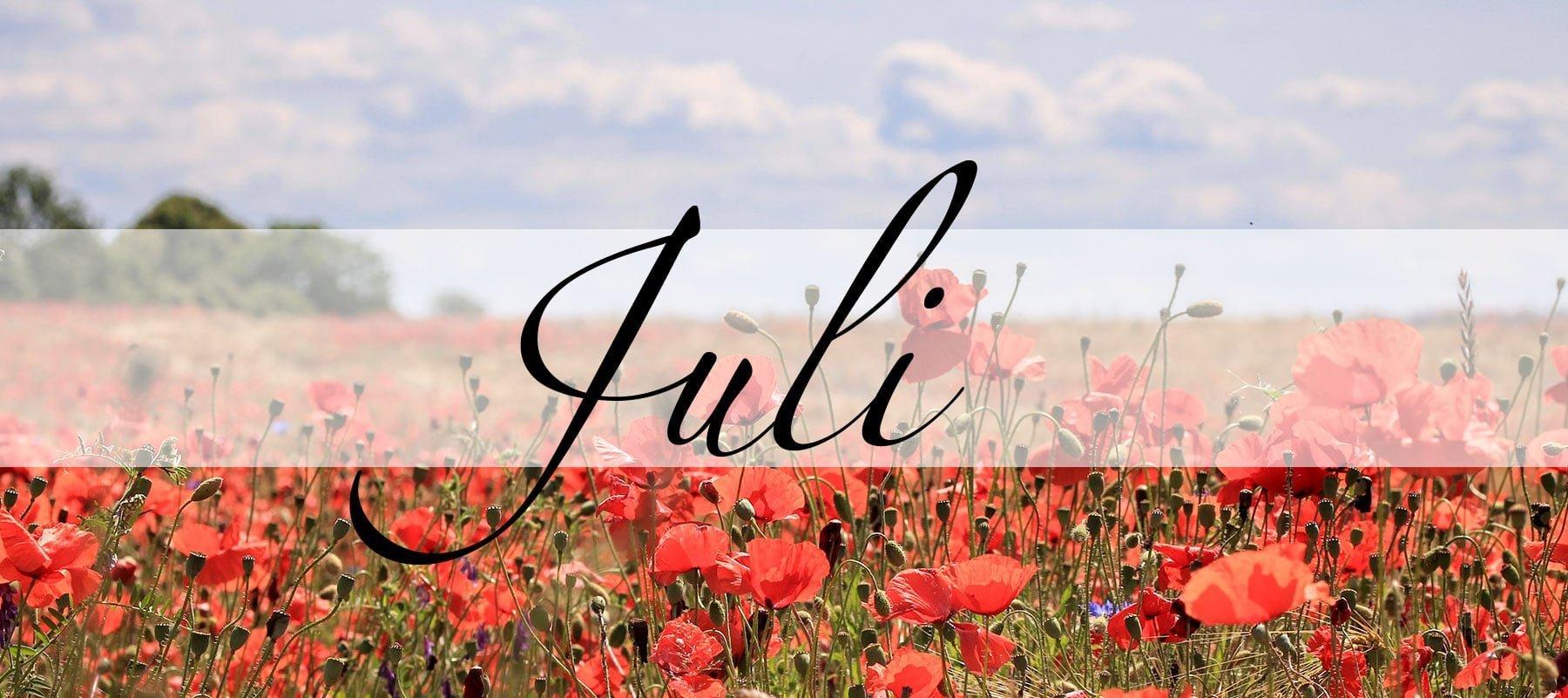 Der Juli