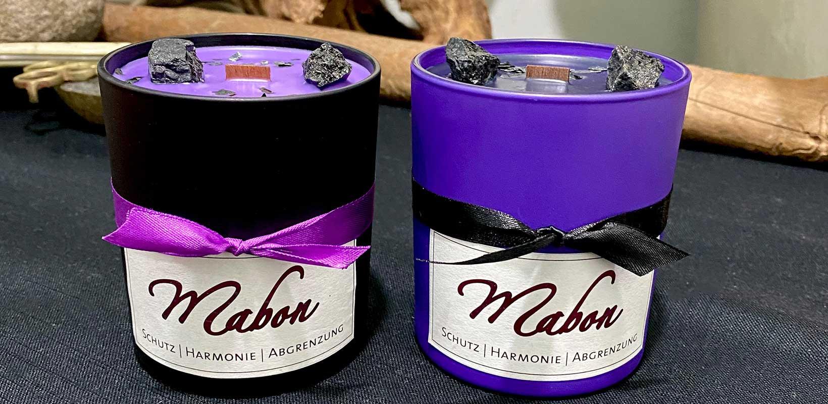 Mabon-Kerzen