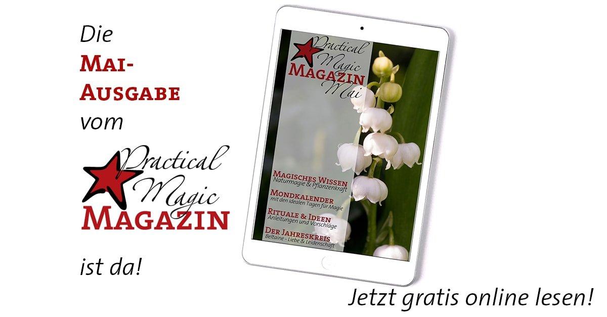 Inhaltsangabe Ausgabe Mai | Practical Magic Magazin
