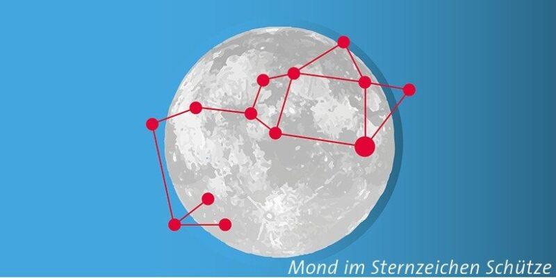 Mond im Schütze