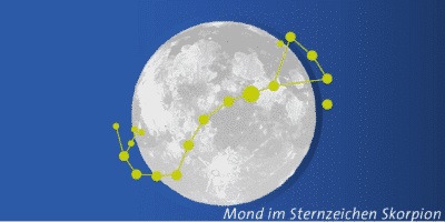 Vollmond im Skorpion