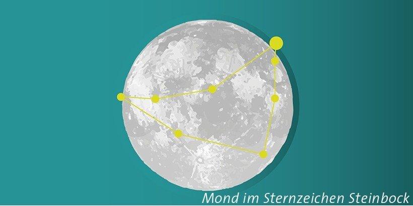 Mond im Steinbock