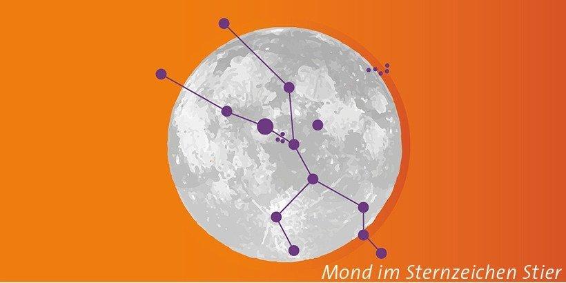 Mond im Stier