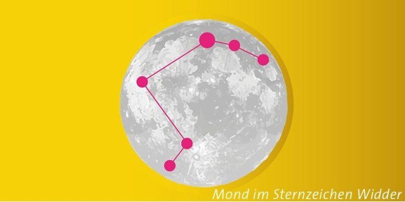 Mond im Widder
