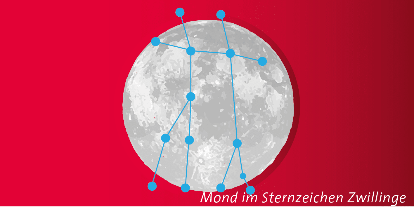 Vollmond in den Zwillingen