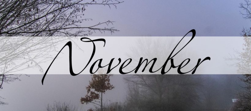 Der November in der Magie - Magie der Monate - oben