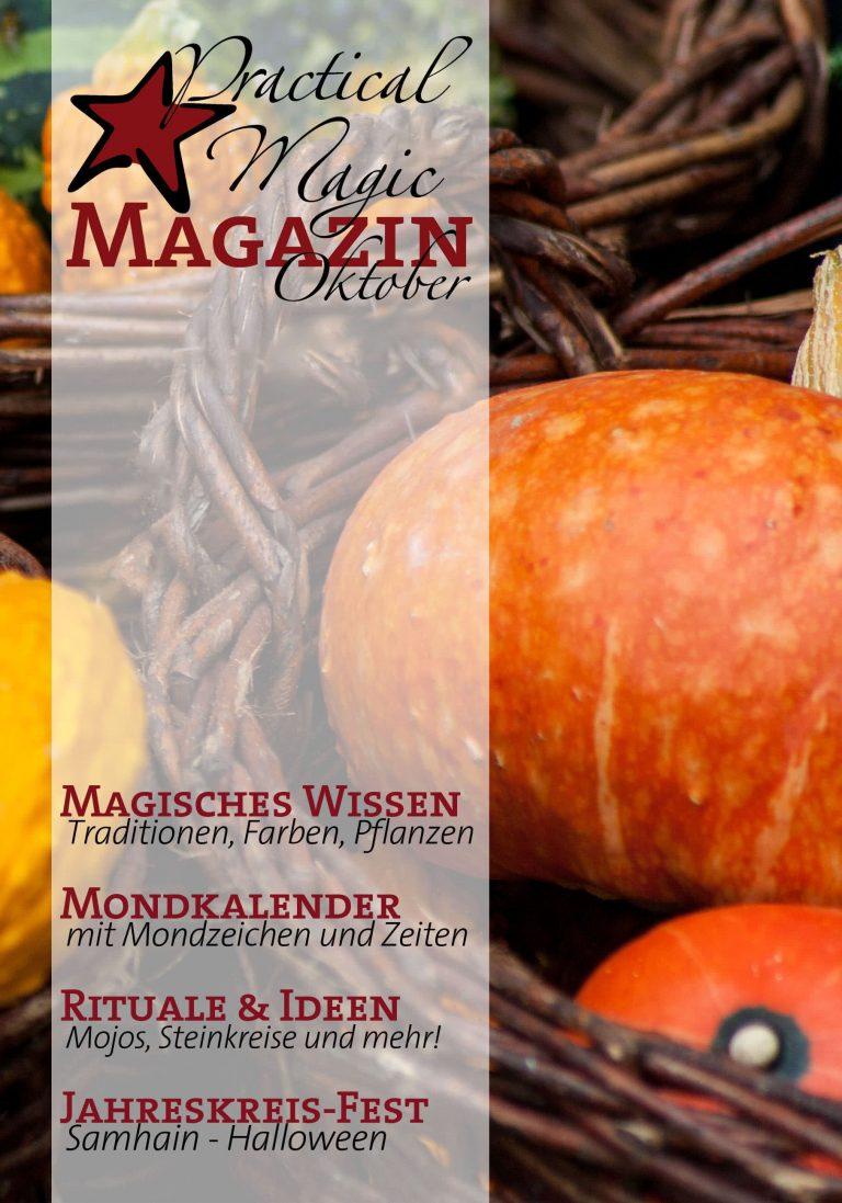 Practical Magic Magazin Oktober-Ausgabe