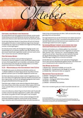 Hexenkalender Oktober Vorschau