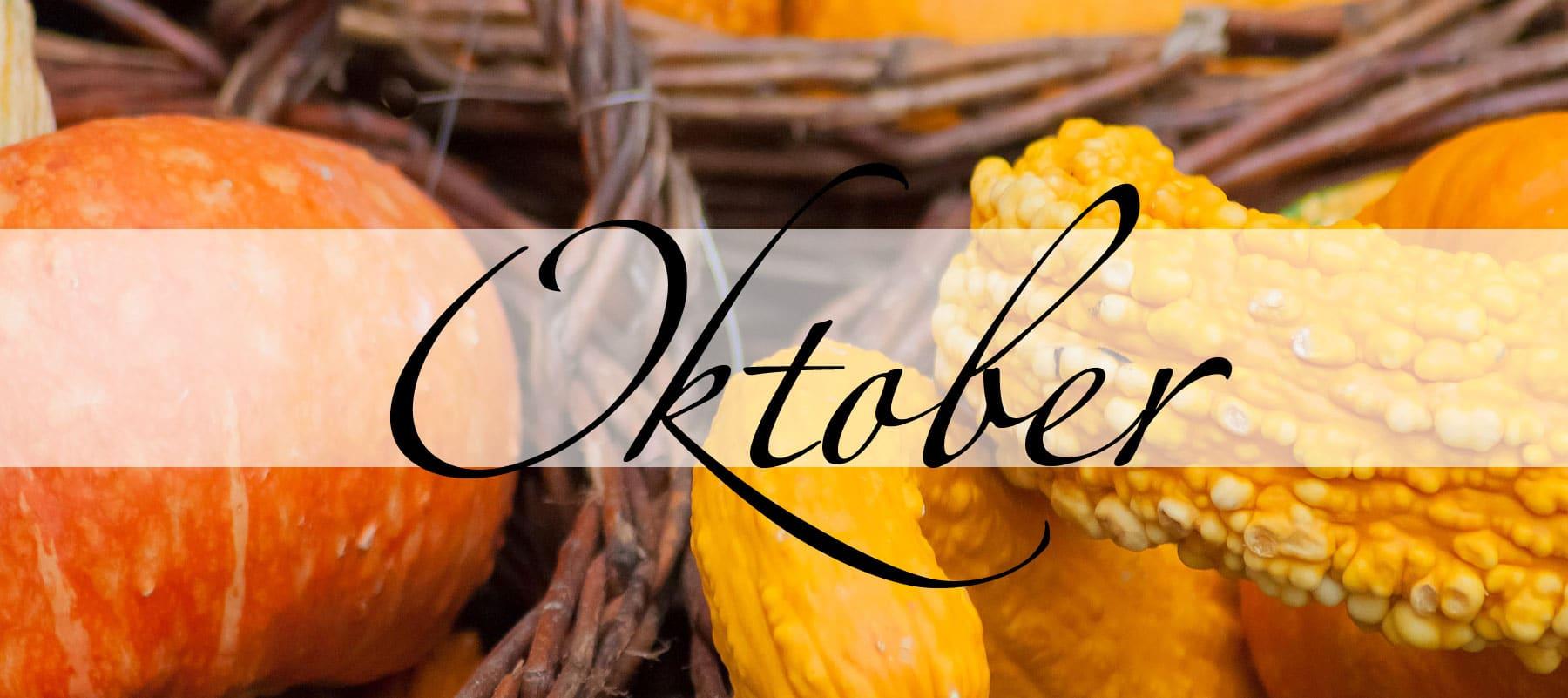 Der Oktober in der Magie - Magie der Monate - oben