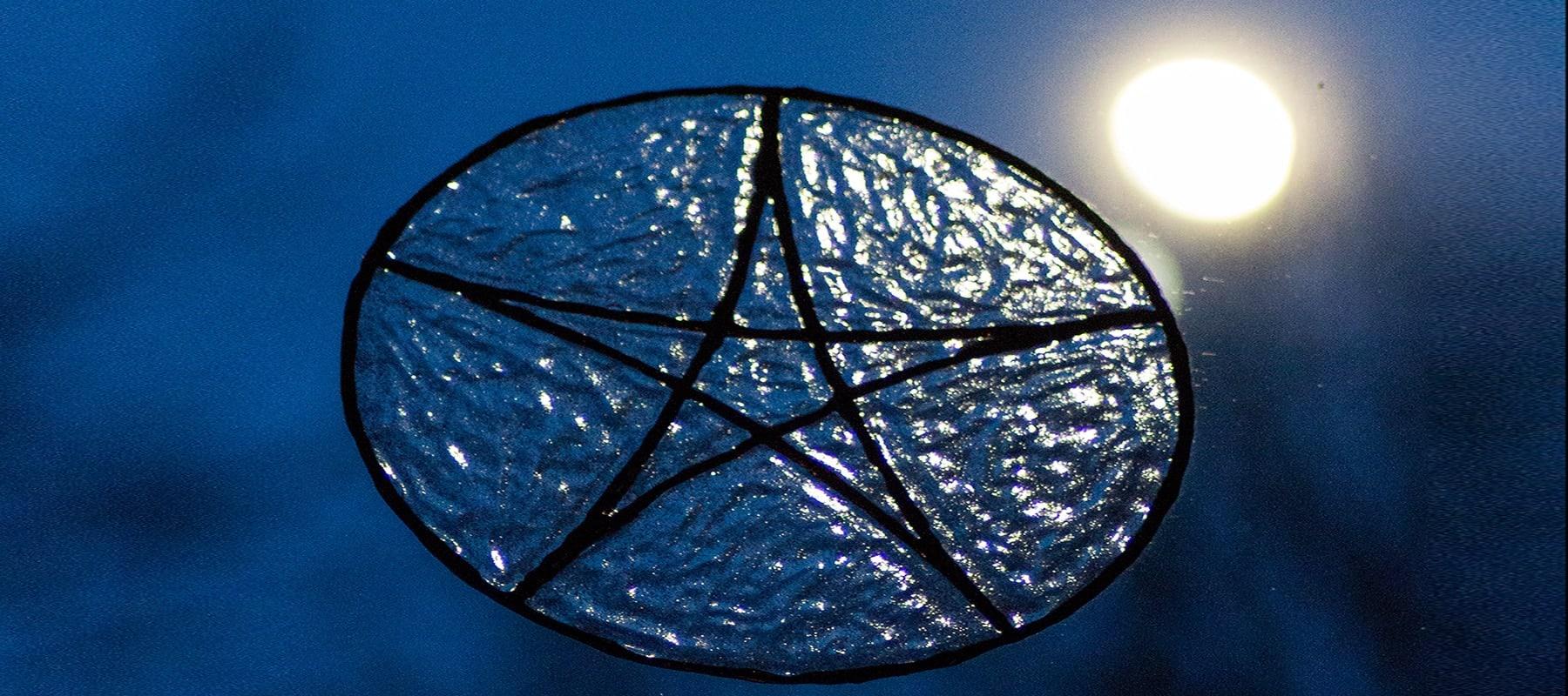 Pentagramm Mond Magie