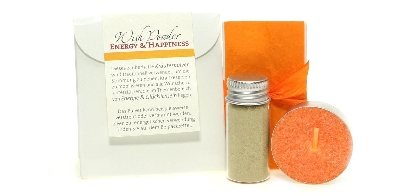 Pulver Energy & Happiness Orange
