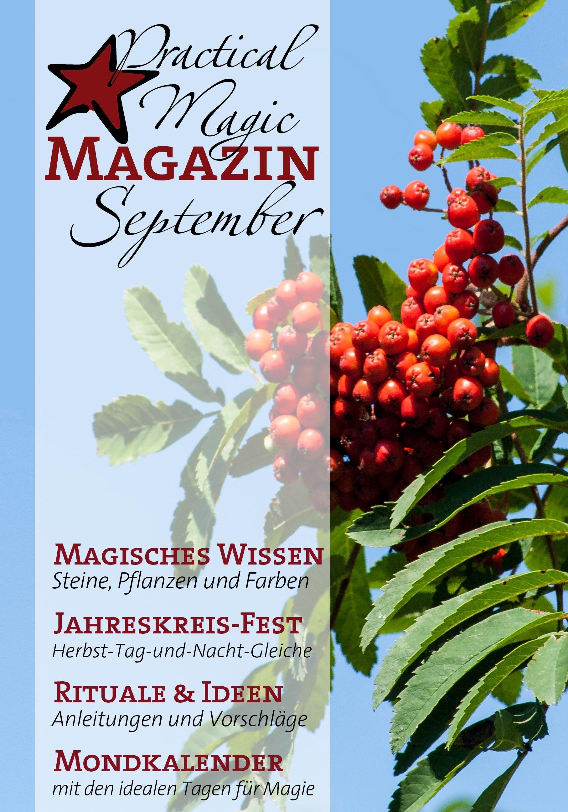 Aktuelle Ausgabe des Practical Magic Magazins