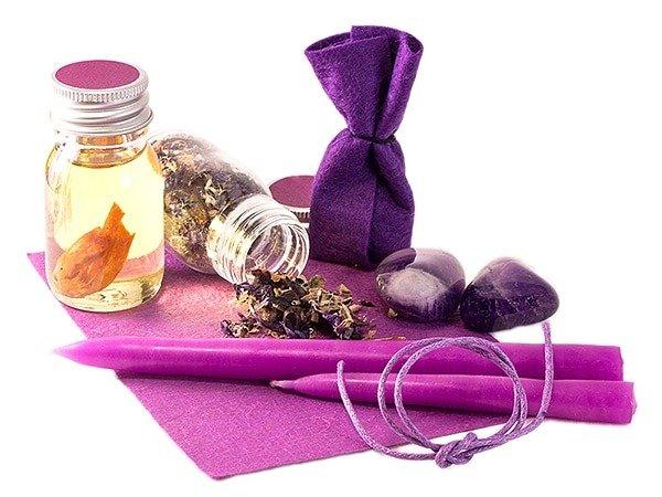 Die Farbe Violett in der Magie